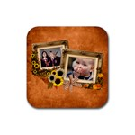 Autumn Delights - Rubber Square(4pack)  - Rubber Square Coaster (4 pack)