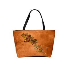 Autumn Delights   Classic Shoulder Handbag  By Picklestar Scraps   Classic Shoulder Handbag   Ca18kp7bhesb   Www Artscow Com Back