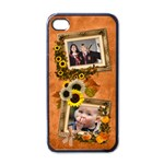 Autumn Delights - Apple iPhone4 (Black)  - Apple iPhone 4 Case (Black)