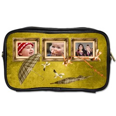 Autumn Delights   Toiletries Bag (two Sides)  By Picklestar Scraps   Toiletries Bag (two Sides)   155q8vgn2xj8   Www Artscow Com Front