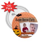 halloween - 2.25  Button (100 pack)