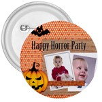 halloween - 3  Button