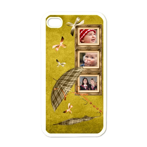 Autumn Delights   Apple Iphone4 (white)  By Picklestar Scraps   Apple Iphone 4 Case (white)   Qq4rlf6ij6vu   Www Artscow Com Front