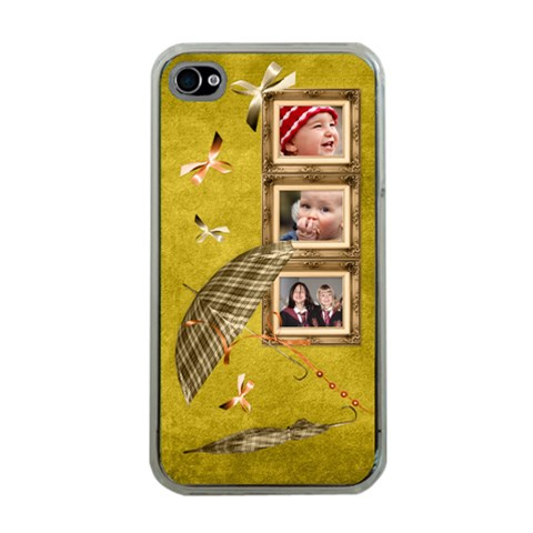 Autumn Delights   Apple Iphone4 (clear)  By Picklestar Scraps   Apple Iphone 4 Case (clear)   1bjaqhluku7y   Www Artscow Com Front
