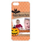 halloween - Apple iPhone 5 Seamless Case (White)