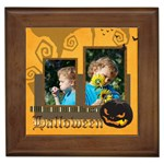 Halloween - Framed Tile