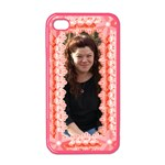 Pink Pearl trimmed Apple iphone 4 case - Apple iPhone 4 Case (Color)