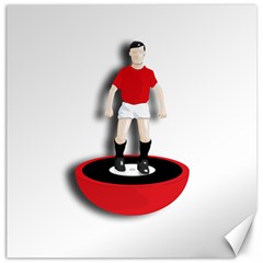 Subbuteo 3 Canvas 12  x 12  by OurInspiration