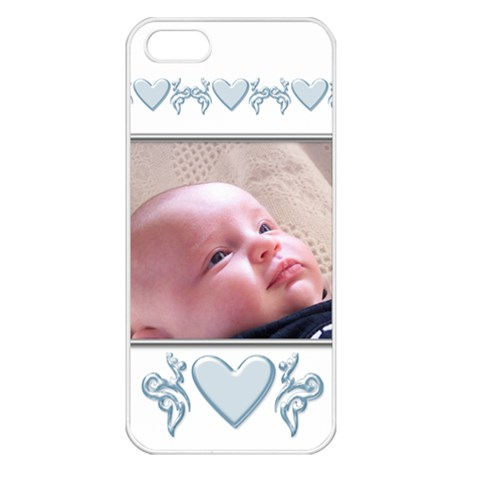 My Boy Apple Iphone 5 Seamless Case (white) By Deborah   Apple Iphone 5 Seamless Case (white)   L4ga0ubprusl   Www Artscow Com Front