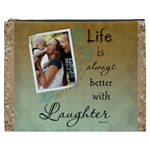 Laughter XXXL Cosmetic Bag - Cosmetic Bag (XXXL)