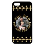 Best Dad Apple iPhone 5 Seamless Case (Black)