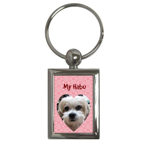 ???????????¢x?????? By Lin Yin Chun   Key Chain (rectangle)   Nylp7pz0euk0   Www Artscow Com Front