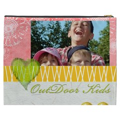 Outdoor Kids By Joely   Cosmetic Bag (xxxl)   Bm76cid8xmww   Www Artscow Com Back