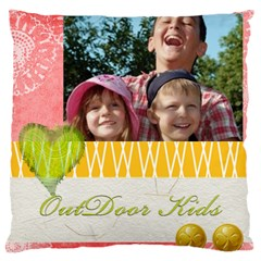Kids By Joely   Large Cushion Case (two Sides)   Phno9ql7xf0p   Www Artscow Com Front