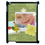 xmas - Apple iPad 2 Case (Black)