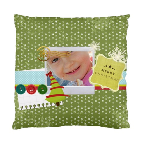 Xmas By Jo Jo   Standard Cushion Case (one Side)   N9r4tpizhtbp   Www Artscow Com Front