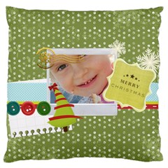 Xmas By Jo Jo   Large Cushion Case (two Sides)   O1yt4efwt14x   Www Artscow Com Front
