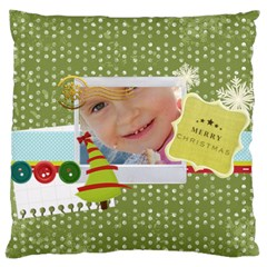 Xmas By Jo Jo   Large Cushion Case (two Sides)   O1yt4efwt14x   Www Artscow Com Back