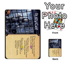 Dungeon D 1 By Gregorio   Multi Purpose Cards (rectangle)   6w3nul1huyfx   Www Artscow Com Front 2