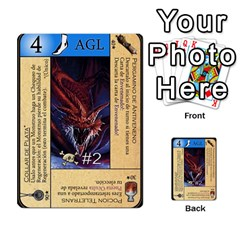 Dungeon D 1 By Gregorio   Multi Purpose Cards (rectangle)   6w3nul1huyfx   Www Artscow Com Front 49