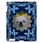 Blue Swirls and Butterflies Apple iPad 3 hardshell Case - Apple iPad 3/4 Hardshell Case
