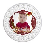 xmas - Ornament (Round Filigree)