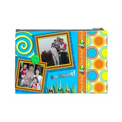 Family20121031 By Vivianyu   Cosmetic Bag (large)   7h5juv60slg8   Www Artscow Com Back