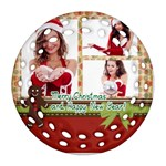 christmas - Ornament (Round Filigree)