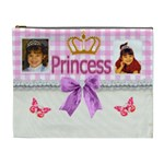 Princess Crown Cosmetic Bag (XL)