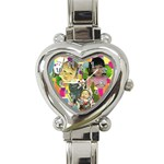1 - Heart Italian Charm Watch