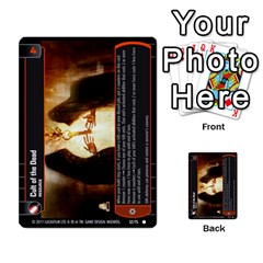 Star Wars Tcg Ix By Jaume Salva I Lara   Multi Purpose Cards (rectangle)   W5k2mtiqpbkl   Www Artscow Com Front 51