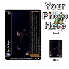 Star Wars Tcg Ix By Jaume Salva I Lara   Multi Purpose Cards (rectangle)   W5k2mtiqpbkl   Www Artscow Com Front 12