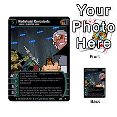 Star Wars Tcg Ix By Jaume Salva I Lara   Multi Purpose Cards (rectangle)   W5k2mtiqpbkl   Www Artscow Com Front 14