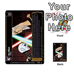 Star Wars Tcg Ix By Jaume Salva I Lara   Multi Purpose Cards (rectangle)   W5k2mtiqpbkl   Www Artscow Com Front 19