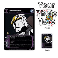 Star Wars Tcg Ix By Jaume Salva I Lara   Multi Purpose Cards (rectangle)   W5k2mtiqpbkl   Www Artscow Com Front 23