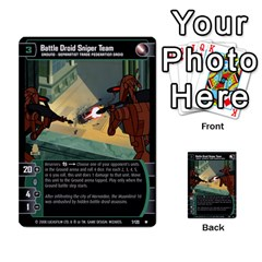 Star Wars Tcg Ix By Jaume Salva I Lara   Multi Purpose Cards (rectangle)   W5k2mtiqpbkl   Www Artscow Com Front 25