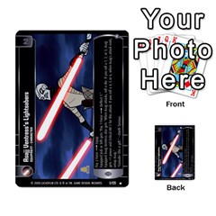 Star Wars Tcg Ix By Jaume Salva I Lara   Multi Purpose Cards (rectangle)   W5k2mtiqpbkl   Www Artscow Com Front 29