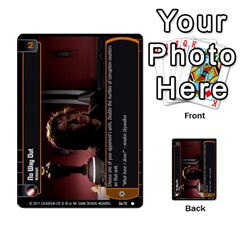 Star Wars Tcg Ix By Jaume Salva I Lara   Multi Purpose Cards (rectangle)   W5k2mtiqpbkl   Www Artscow Com Front 32
