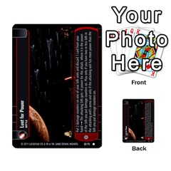 Star Wars Tcg Ix By Jaume Salva I Lara   Multi Purpose Cards (rectangle)   W5k2mtiqpbkl   Www Artscow Com Front 38