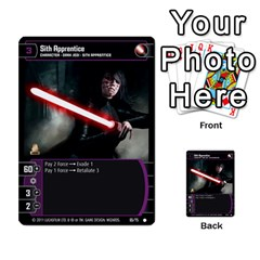 Star Wars Tcg Ix By Jaume Salva I Lara   Multi Purpose Cards (rectangle)   W5k2mtiqpbkl   Www Artscow Com Front 44