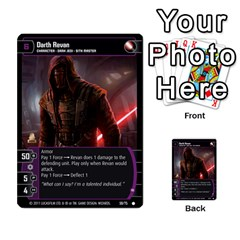 Star Wars Tcg Ix By Jaume Salva I Lara   Multi Purpose Cards (rectangle)   W5k2mtiqpbkl   Www Artscow Com Front 45