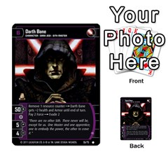 Star Wars Tcg Ix By Jaume Salva I Lara   Multi Purpose Cards (rectangle)   W5k2mtiqpbkl   Www Artscow Com Front 49