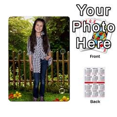 Moni By Penka Mihaylova   Playing Cards 54 Designs (rectangle)   Yk4sfrb0xdeu   Www Artscow Com Front - Diamond4