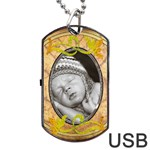 Pretty Dog Tag USB Flash (2 Sides) - Dog Tag USB Flash (Two Sides)