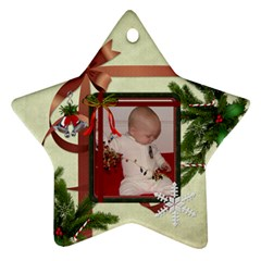 2012 Star Ornament (2 Sides) By Lil    Star Ornament (two Sides)   33v1srm2znag   Www Artscow Com Back