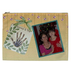 Mommy And Me Cosmetic Bag (xxl) 2 Sides By Kim Blair   Cosmetic Bag (xxl)   Ztnzr6i65u24   Www Artscow Com Front