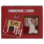Christmas Card Bag (XXXL Cosmetic Bag) - Cosmetic Bag (XXXL)