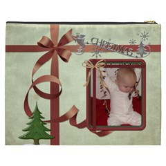 Christmas Xxxl Cosmetic Bag By Lil    Cosmetic Bag (xxxl)   An17rq4643rr   Www Artscow Com Back