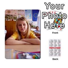 Kalendari 2 By Penka Mihaylova   Playing Cards 54 Designs (rectangle)   Vyarphjtrtoe   Www Artscow Com Front - Spade5