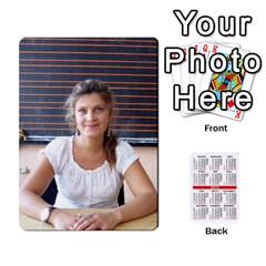 Kalendari 2 By Penka Mihaylova   Playing Cards 54 Designs (rectangle)   Vyarphjtrtoe   Www Artscow Com Front - Club6